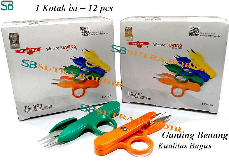 Gunting Benang Golden Eagle (PER BOX)