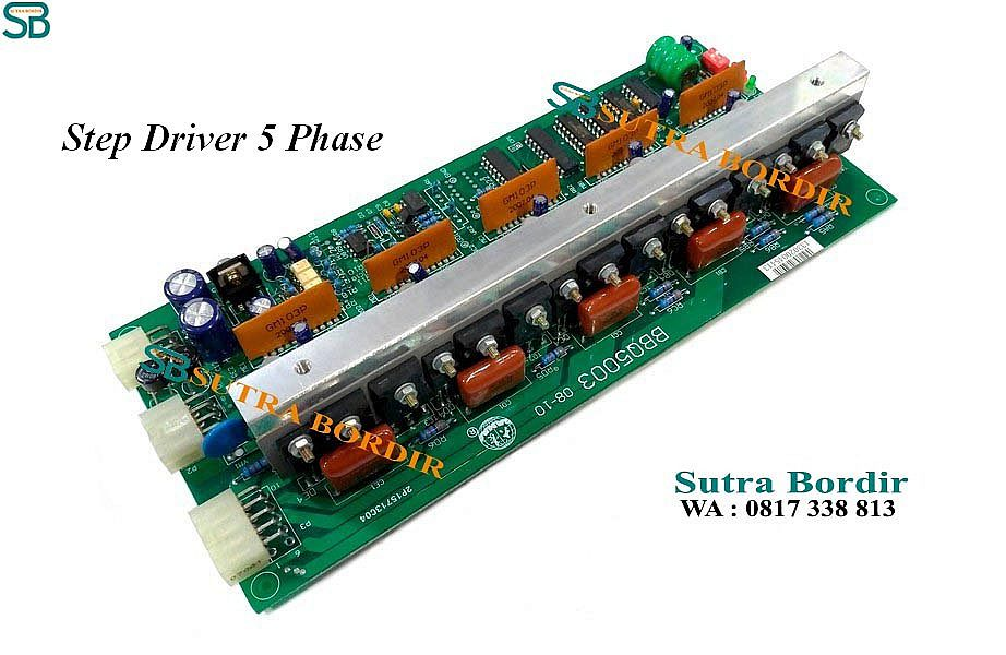 Driver Stepping 5 Phase
