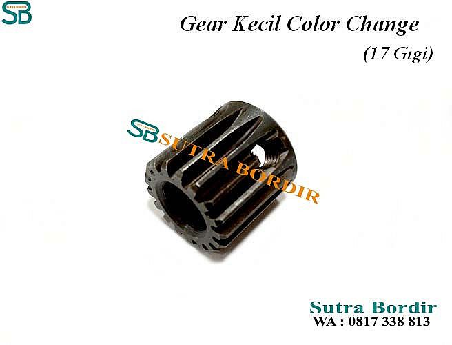 Gear Color Change Mesin Bordir China (17 Gigi)
